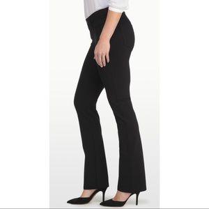 NYDJ Bling Pocket Black Bootcut Jeans Lift Tuck